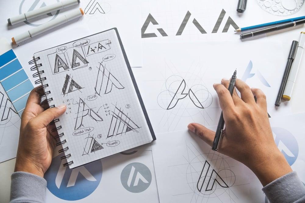 graphic design sketches