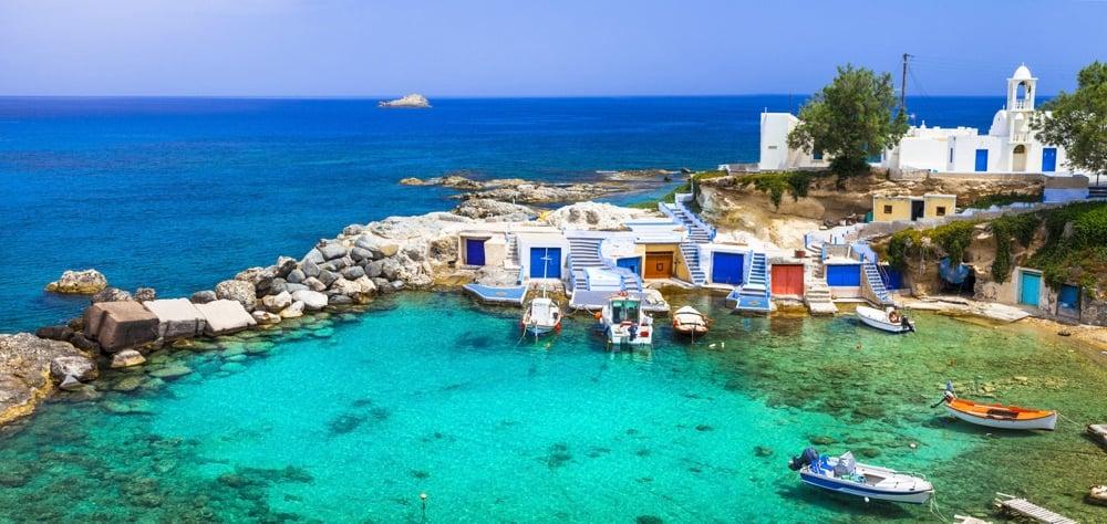 milos is one of the best islands in greece