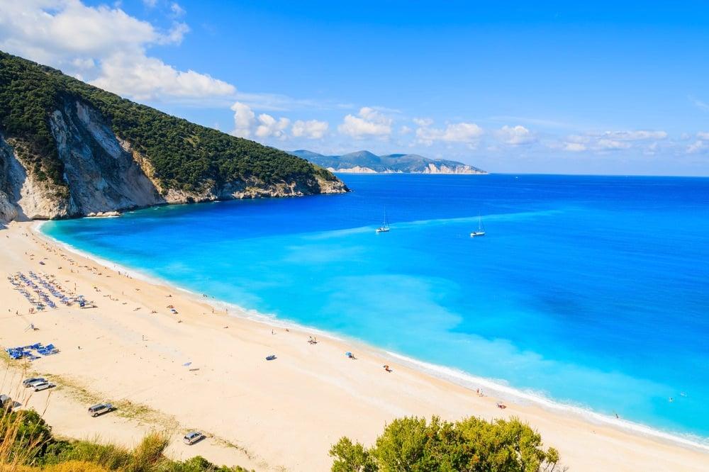 myrtos beach kefalonia island