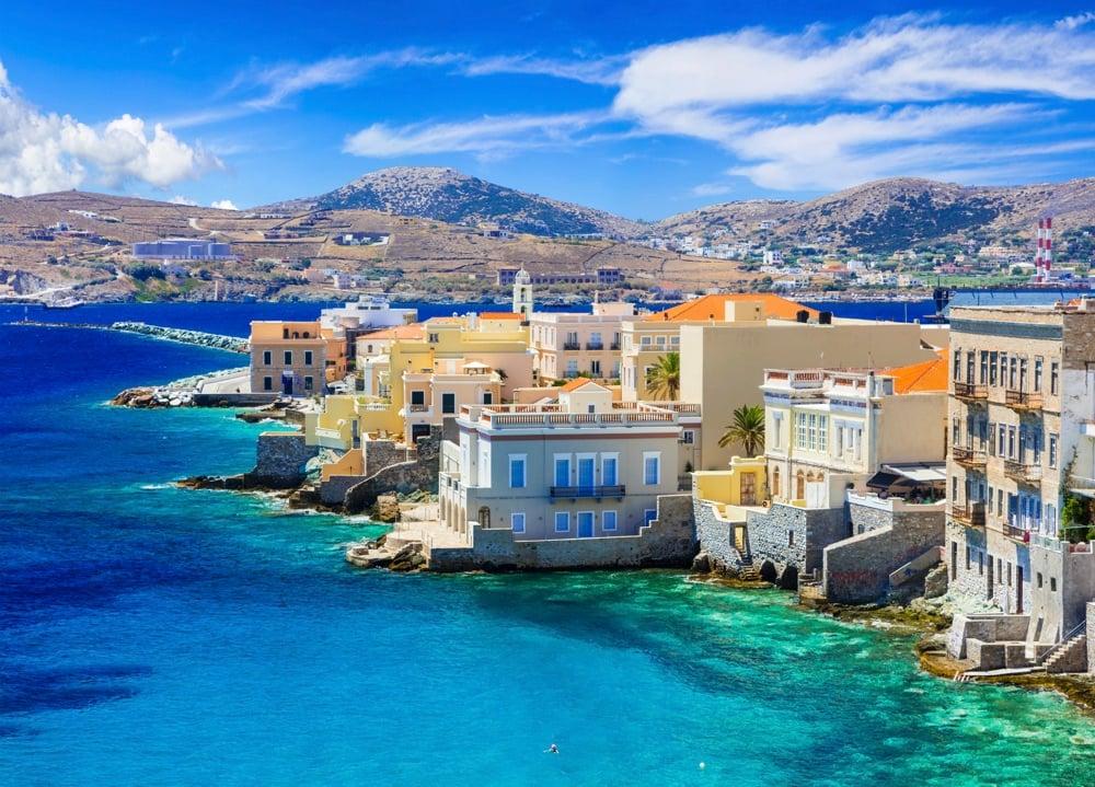 syros island little venice
