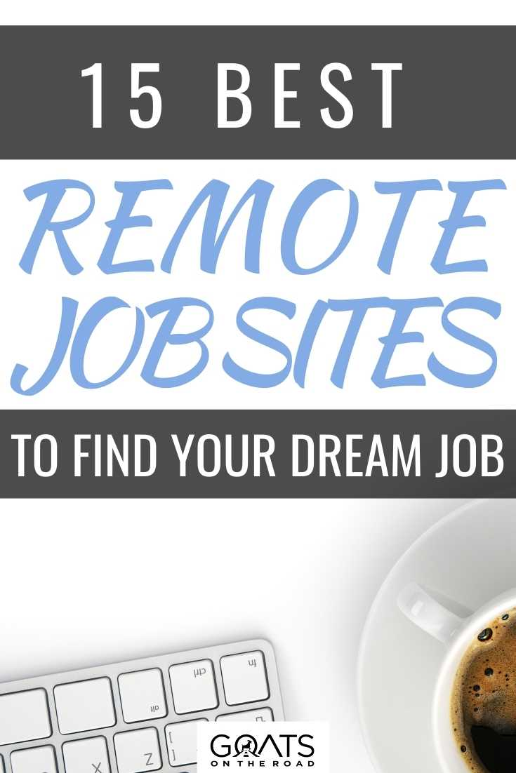 15 Best Remote Job Sites to Find Your Dream Job