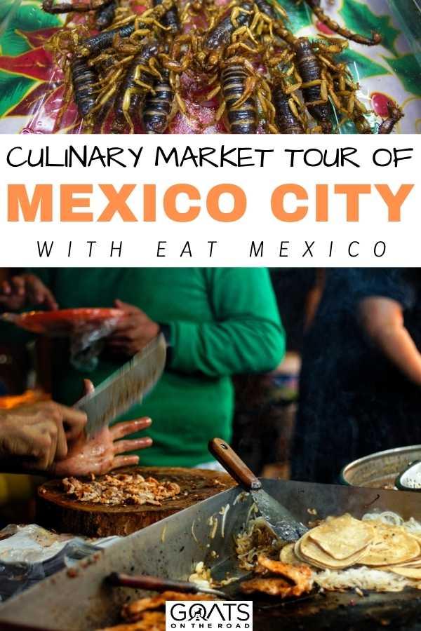 """Culinary Market Tour Of Mexico City"