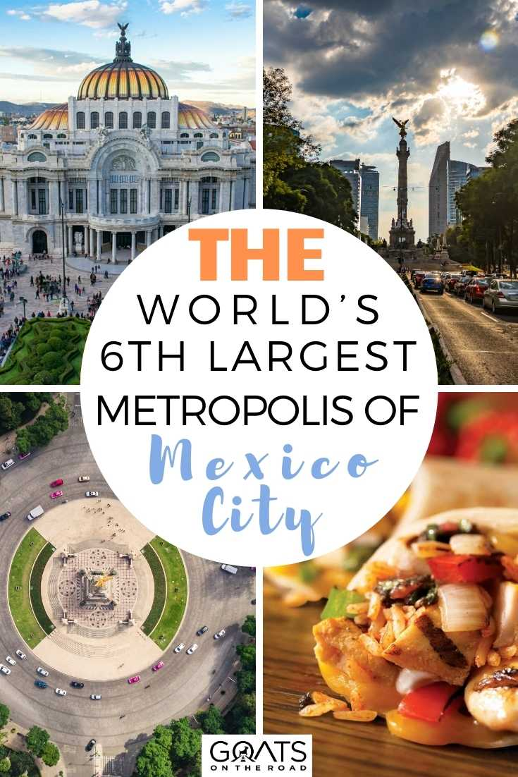 The World's 6th Largest Metropolis of Mexico City