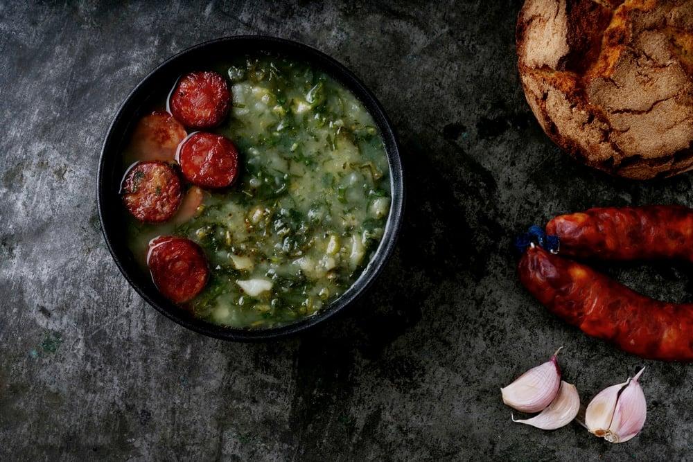 caldo verde soup portuguese foods