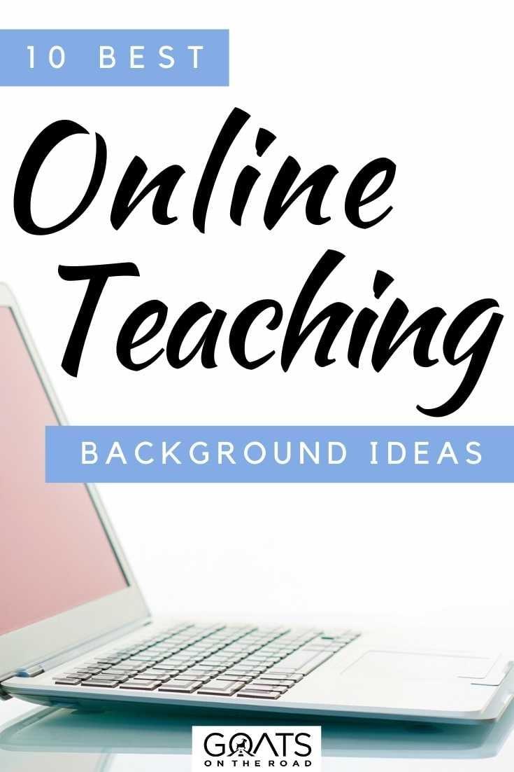 """""""10 Best Online Teaching Background Ideas"""