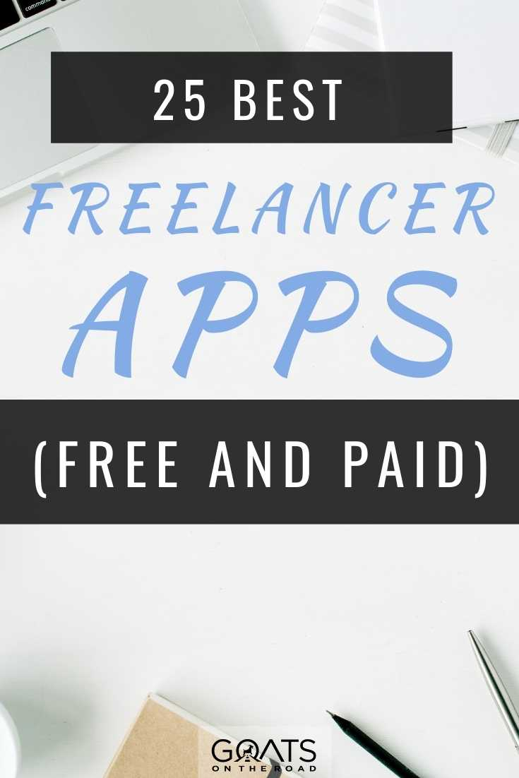 25 Best Freelancer Apps