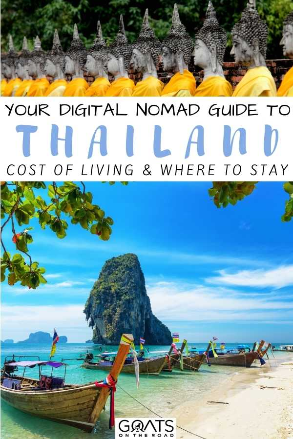 """""""Your Digital Nomad Guide To Thailand: Cost of Living & Where To Stay"""
