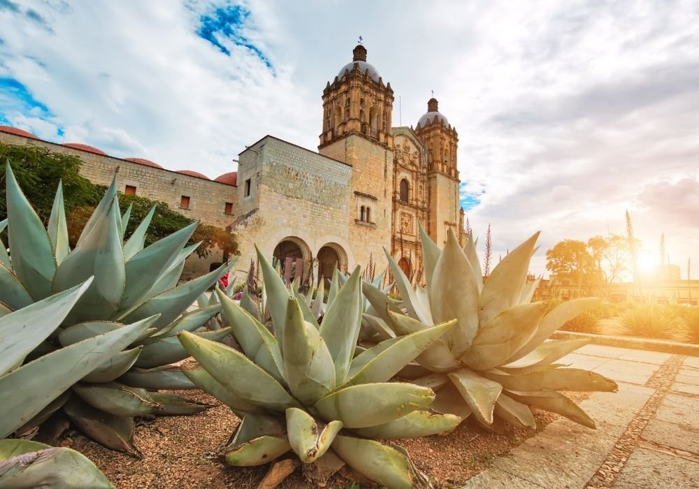 living in oaxaca for digital nomads church and agave