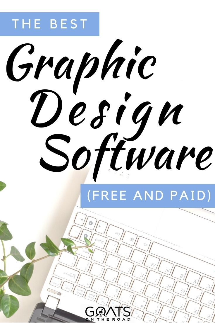 """""""Best Graphic Design Software (Free and Paid)"""