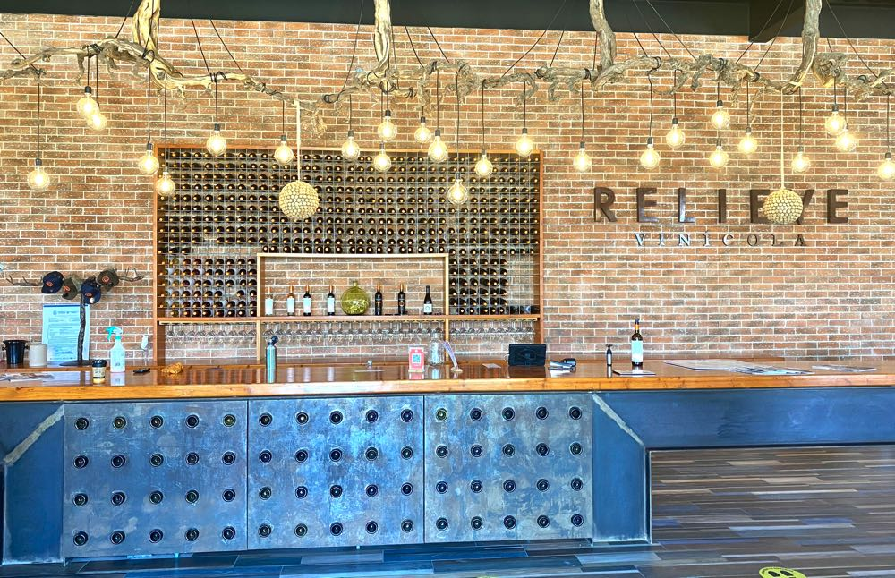 relieve winery in valle de guadalupe