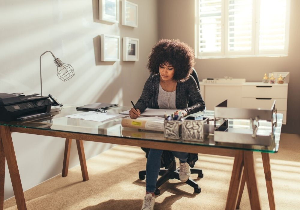 working at home tips for motivation