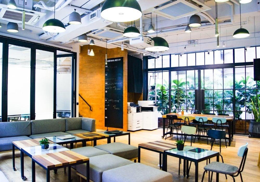 coworking spaces living in hong kong