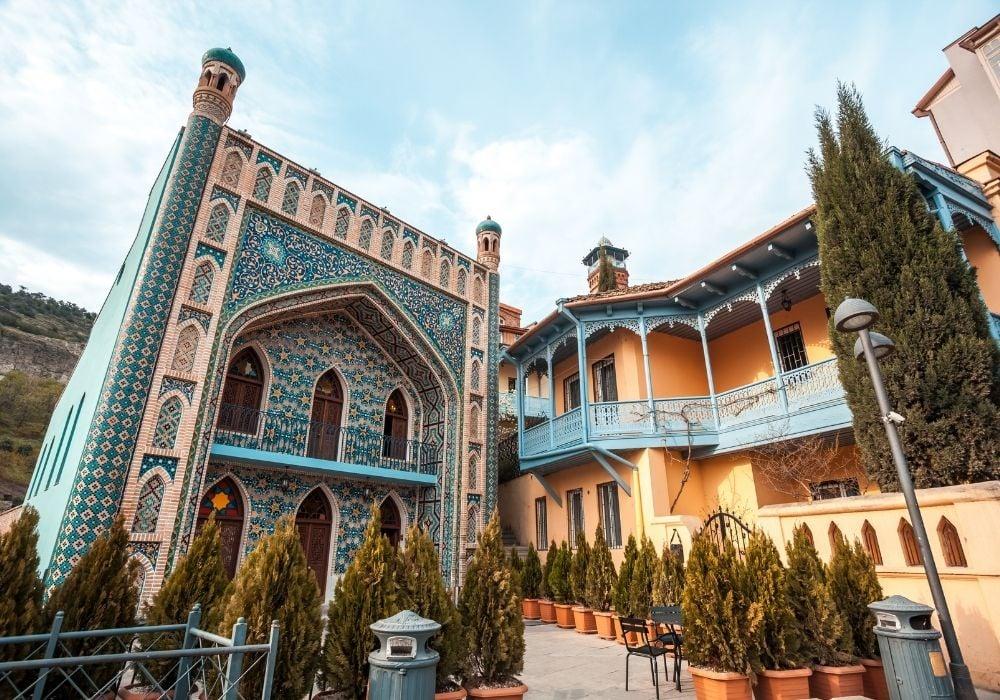 tbilisi city georgia
